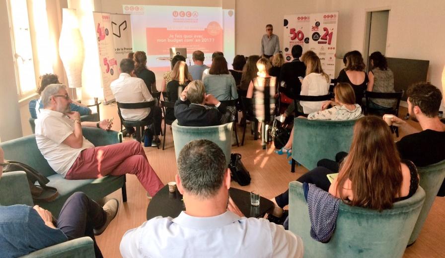 Atelier de l'UCCA au Club de la Presse Strasbourg
