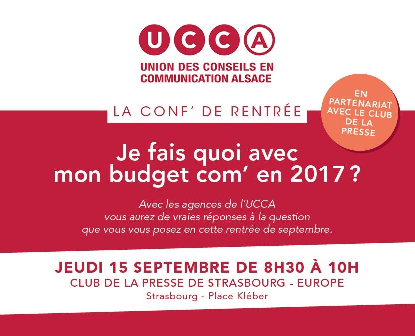 Atelier UCCA au Club de la Presse Strasbourg