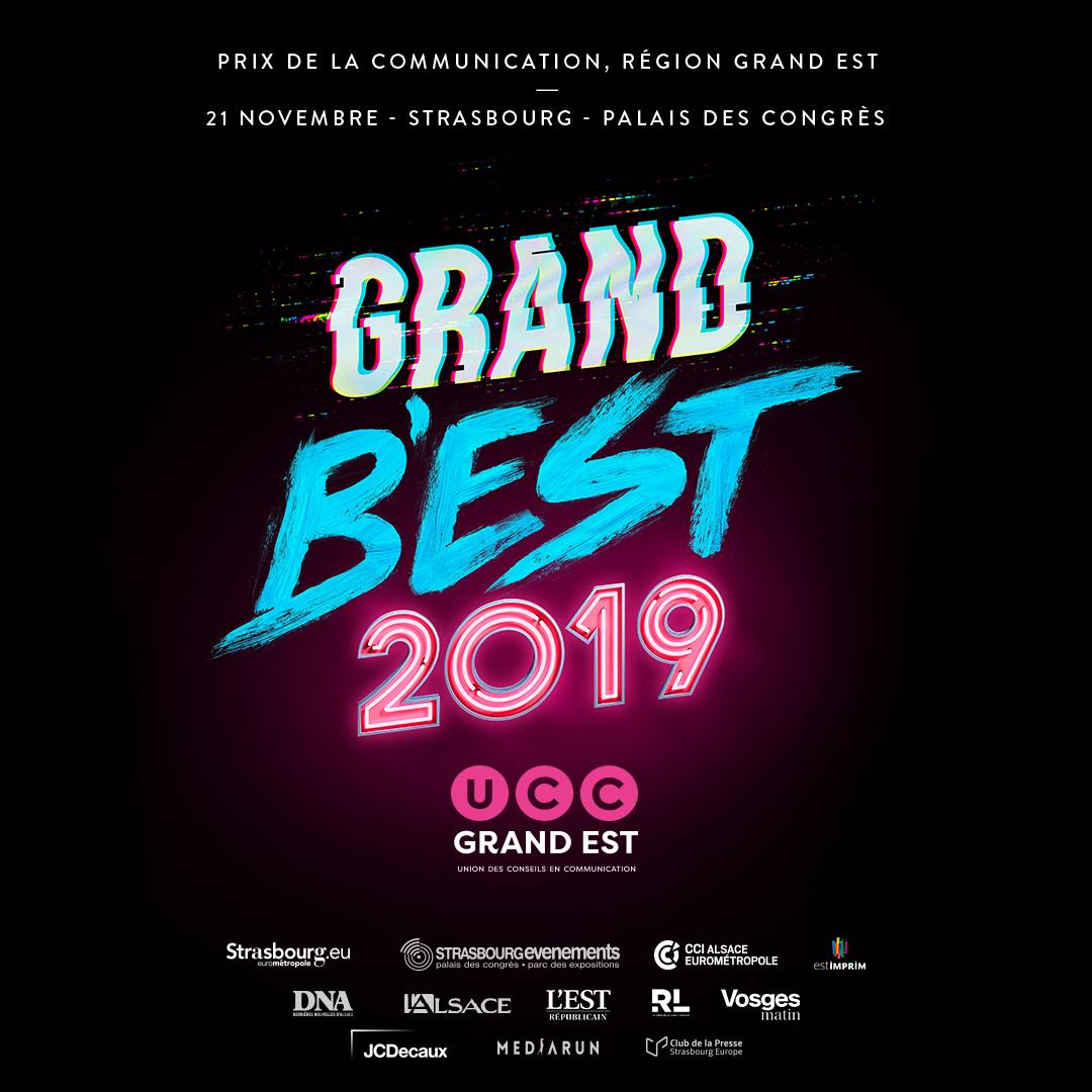 Affiche du Grand B'Est 2019